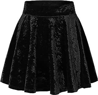 Best high waisted velvet skirt Reviews