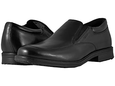 Rockport Essential Details Waterproof Slip On (Black) Men