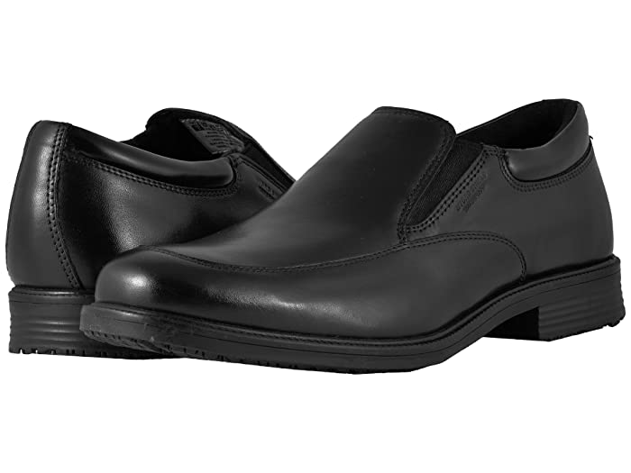 Rockport  Essential Details Waterproof Slip On (Black) Mens Slip on  Shoes