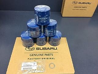 OEM Factory Subaru Engine Oil Filter & Crush Gasket (6 Pack) 15208AA12A Genuine 1990-2018