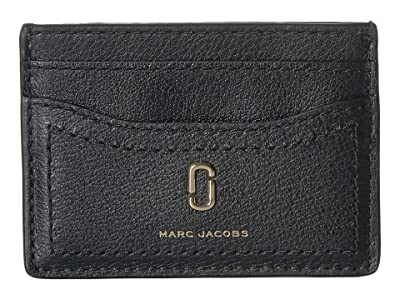 Marc Jacobs Card Case (Black) Wallet Handbags