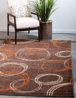 Best modern brown area rug Reviews