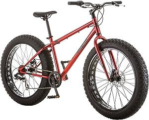 Mongoose Hitch Mens All-Terrain Fat Tire Mountain Bike,
