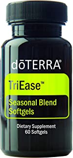 doTERRA - TriEase Softgels Essential Oil Seasonal Blend - 60 Softgels