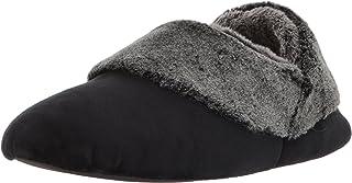 حذاء نسائي من القطيفة مع كومة متجمدة من ديرفومز