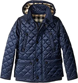 Burberry Kids - Quilted Jacket with Hood (Little Kids/Big Kids)
