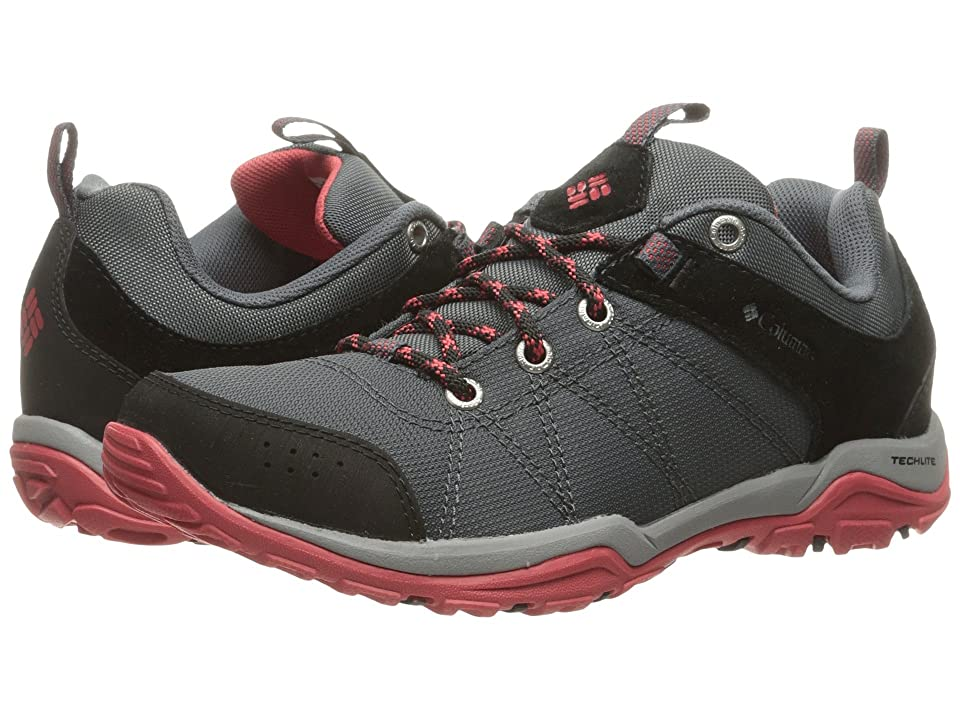 Columbia Fire Venture Textile (Graphite/Sunset Red) Women