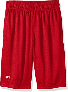 Boys' Mesh Short with White Logo