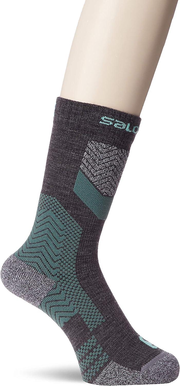 Salomon Outpath Wool Calcetines de Lana Bajos Unisexo Trail Running Sanderismo