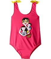 Dolce & Gabbana Kids - Familia One-Piece Swimsuit (Toddler/Little Kids)