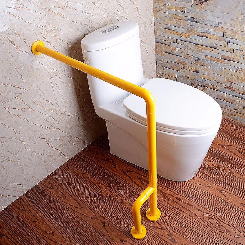 WAWZJ Handrail Barrier Free Rise Handrails Bathroom Bathroom Toilet Handrail Stainless Steel Elderly Disabled Handrail Lift,Yellow