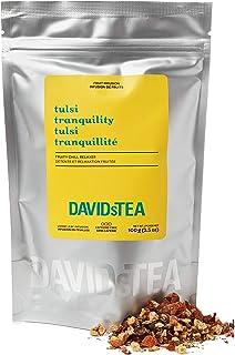 DAVIDsTEA Tulsi Tranquility Loose Leaf Tea, Premium Caffeine-Free Berry Herbal Tea with Tulsi (Holy Basil) for Stress Reli...
