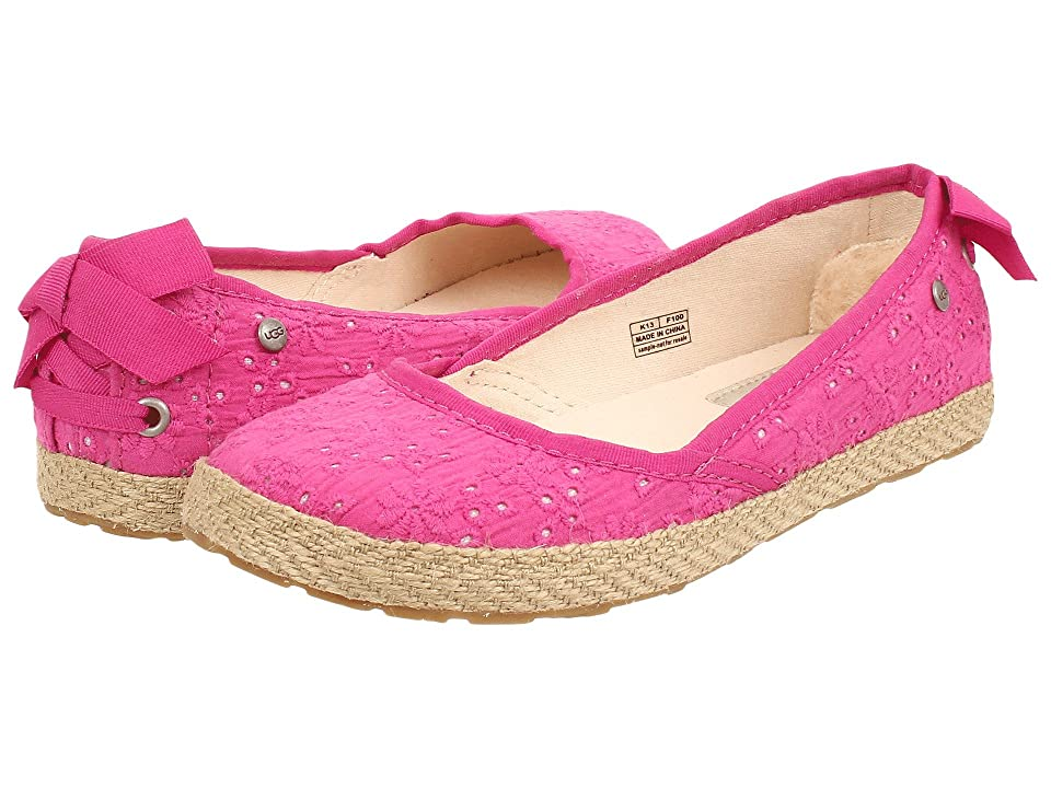 UGG Kids Tassy Eyelet (Little Kid/Big Kid) (Princess Pink) Girl