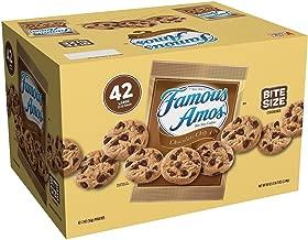Famous Amos Cookies, Chocolate Chip, 2 oz Snack Pack, 42 Packs/Carton (2 cartons)