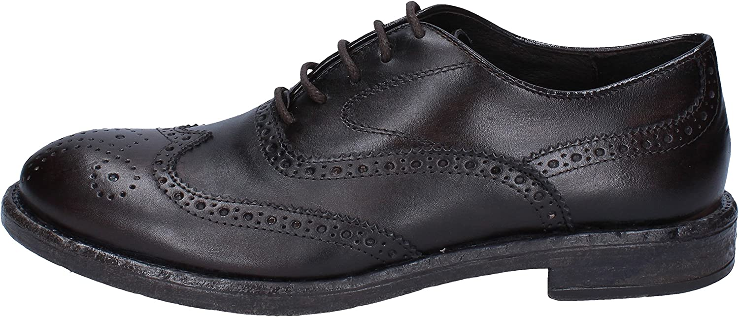 +2 Made in  Oxfords-shoes Mens Leather Brown