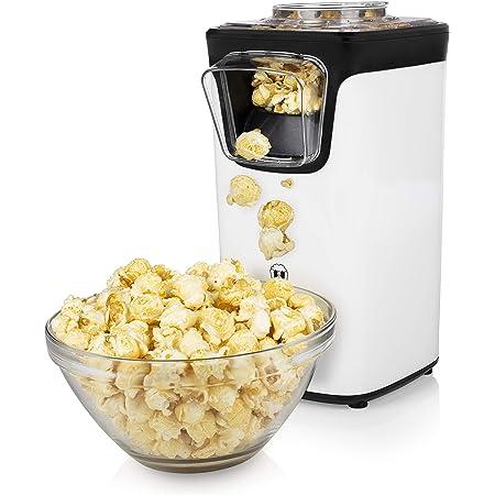 Princess 292986 Macchina per Popcorn, 1100 W, ABS, Nero e Bianco