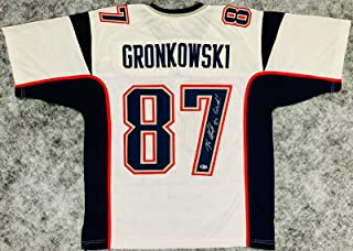 rob gronkowski signed jersey