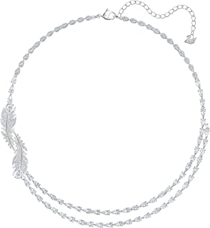 SWAROVSKI Women's Nice Jewelry Collection, Rhodium Finish, Clear Crystals