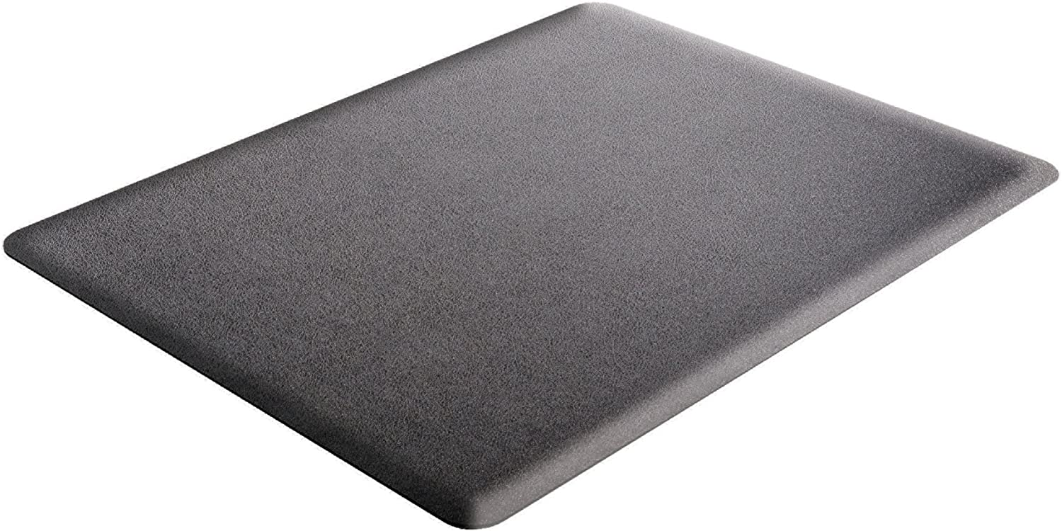 Deflecto Ergonomic Sit and Stand Weekly update Black Pile Low Attention brand Chair Mat Carpe