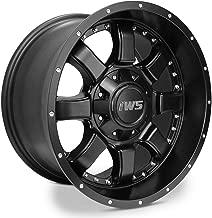 (4) 17x9 6x139.7 6x135-12mm IWS 5005M Matte Black Wheel Rim Ford Chevy GMC