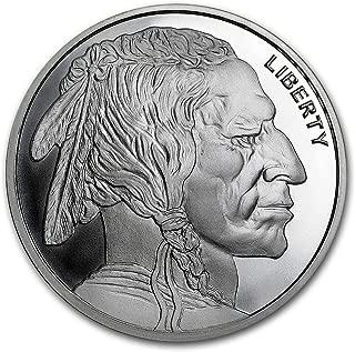 1 oz Buffalo Round Silver Brilliant Uncirculated
