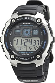 Casio Analogue-Digital Silver Dial Men's Watch - AE-2000W-1AVDF