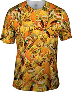 shirt with tacos all over it