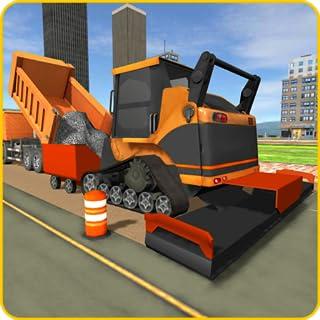 Road Builder City Construction Game : Heavy Excavator City Building Simulator