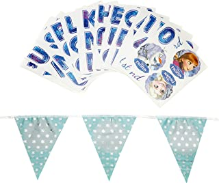 Frozen Holographic Foil Bunting