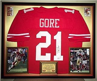 b7a5b478e70 Premium Framed Frank Gore Autographed Signed San Francisco 49ers Jersey -  JSA COA