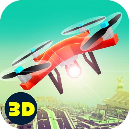 RC City Drone Flight Simulator