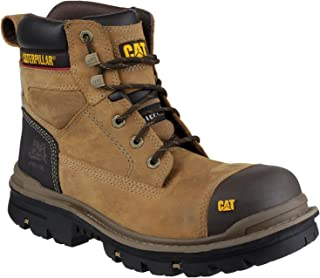 Caterpillar Gravel 6 Inch Mens Dark Beige Safety Boots