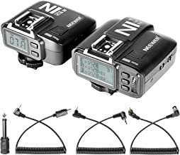 Neewer N1N i-TTL 2.4 G 32 Channels Wireless Flash Trigger(1Transmitter+1Receiver) for Nikon D7200 D7100 D7000 D5300 DSLR Camera,Studio Flash and Flash Speedlite