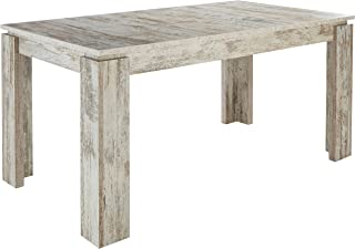 Maisonnerie 1100-162-68 Table Extensible Pin/Style Shabby Chic/Canyon White Pine , 200 x 90 x 77 cm