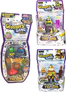 Red's Toy Shop The Grossery Gang Season 5 Bundle, Time Wars Cyber Slop, Putrid Pizza, and Regular Pack