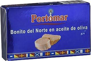 Bonito del Norte en aceite de oliva-Portomar-Pack 8 x 111gr-total=888 gr.