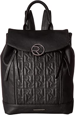 Signature R Quilted Backpack