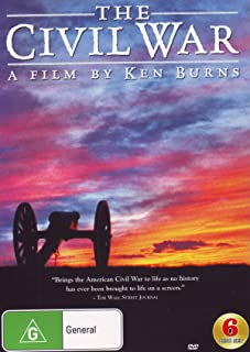 Ken Burns: A Civil War | Remastered | Documentary | 6 Discs | NON-USA Format | PAL | Region 4 Import - Australia