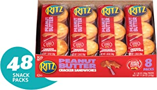 Ritz Peanut Butter Cracker Sandwiches - 48 Individual Snack Packs