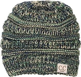 Kids Baby Toddler Ribbed Knit Children's Winter Hat Beanie Cap