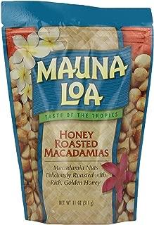 Mauna Loa Macadamia Nuts Honey Roasted 2 Bags