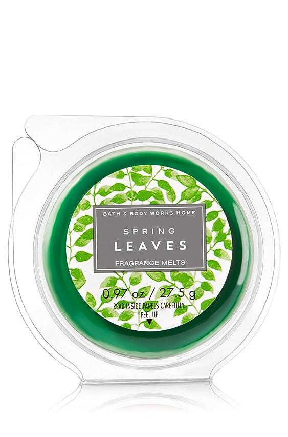 Bath & Body Works Wax Home Fragrance Melt Spring Leaves