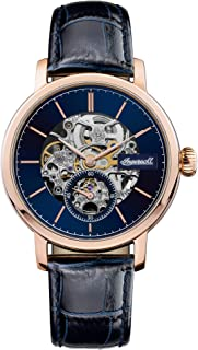 Ingersoll - The Smith Gents Automatic Watch I05706 with a Stainless Steel Case and Genuine Leather Strap