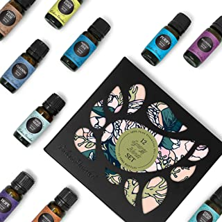 Edens Garden Synergy Blends 12 Set, Best 100% Pure Essential Oil Aromatherapy Starter Kit (for Diffuser & Therapeutic Use), 10 ml