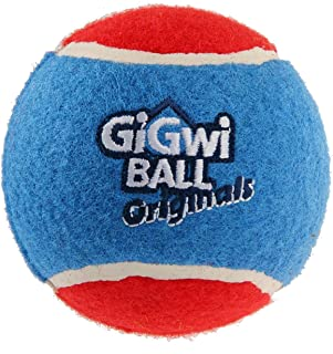 Gigwi Tennis Ball for Dog, 3 Count, Large
