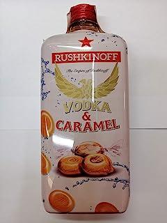 Caramel Vodka Rushkinoff Plastikflasche 1 Liter 18% Alkohol
