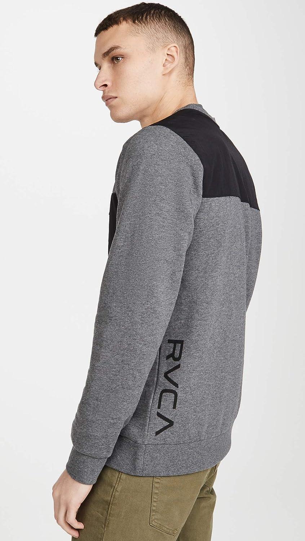 RVCA Mens Hybrid Crew Neck Sweatshirt