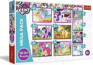 Trefl My Little Pony 90353 De magische wereld van de ponys, 20 tot 48 delen, 10 sets, voor kinderen vanaf 4 jaar