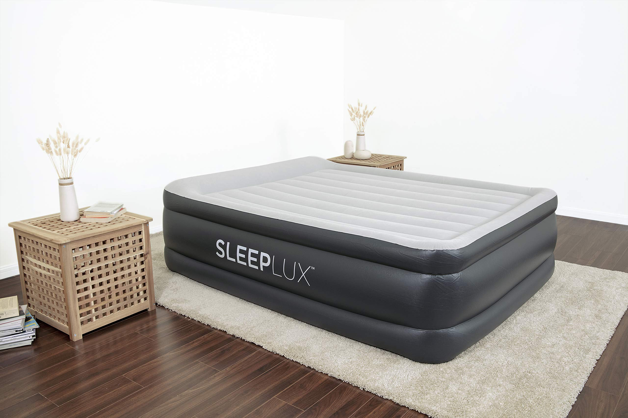 SleepLux Mattress Inflatable Shoulder Material