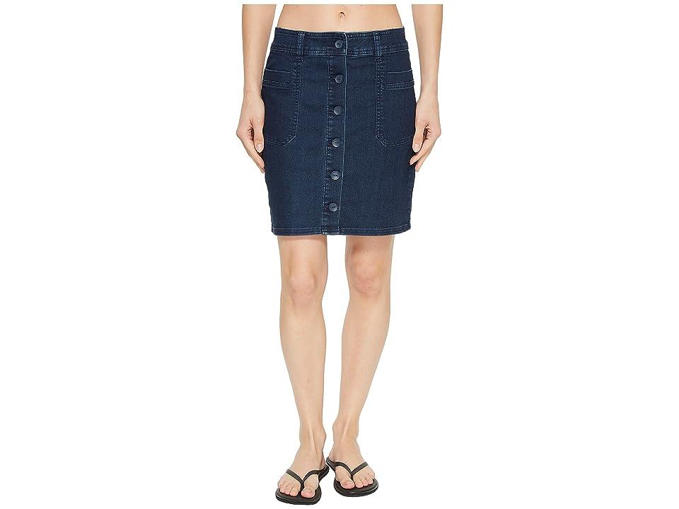 Prana Kara Skirt (Indigo) Women
